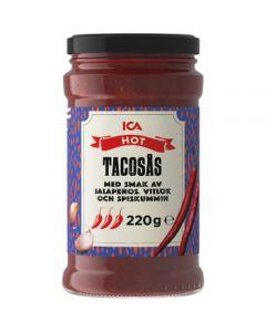ICA Tacosås Hot 220g