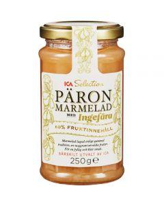 ICA Päron marmelad med Ingefära 250g