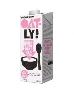 Oatly Havregurt Jordgubb 2% 1l