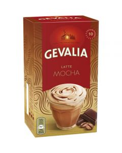 Kaffe Latte Mocha 10-p 170g Gevalia