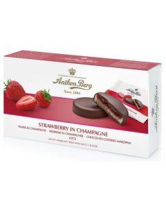 Anthon Berg Erdbeere in Champagner 220g