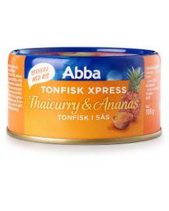 Abba Tonfisk Express Thaicurry Ananas 185g
