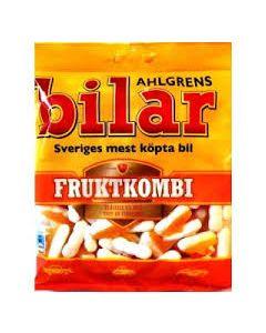 Ahlgrens Bilar Fruktkombi 125g