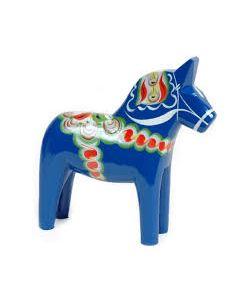 Dalapferd. blau. 17cm