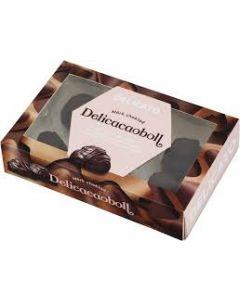 Delicato Delicacaoboll mörk choklad 180g