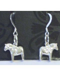 Dalapferd Ohrringe. Silber