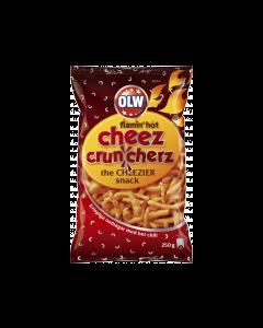 OLW Cheez Cruncherz flamin`hot 225g