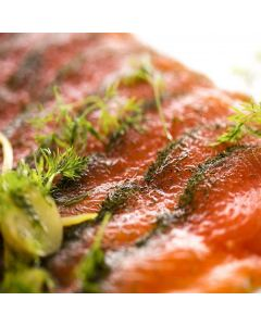 Norwegischer gravad Lachs, geschnitten, 500g