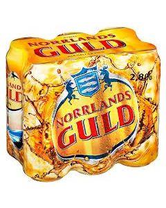 Norrlands Guld 2,8% vol, 6x 0,5l