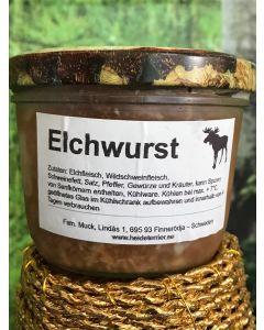 Elchwurst im Glas, 300g