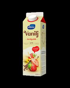 YO Jordgubb Vanilj 1l
