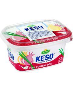 Keso fyra sorter lök