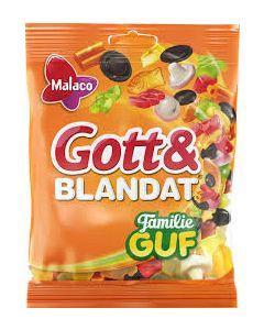 Malaco Gott & Blandat Familie Guf 210g