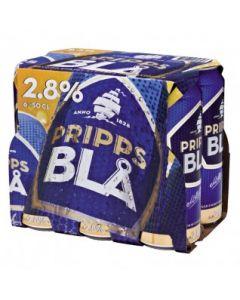Pripps Blå 2,8% vol. 6x 0,5l
