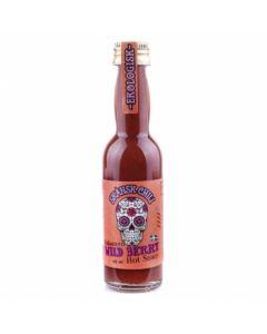 Skånsk Chili, Wild Berries Habanero Hot Sauce, Bio, 12 x 40ml