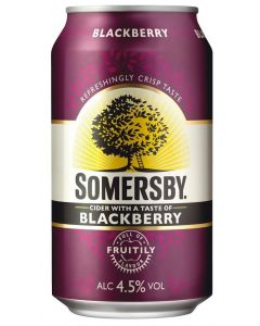 Somersby Blackberry Cider 4,5% 24x0,33 l